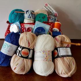 Knitting kits for Afghan refugees
