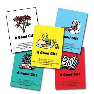 New Good Gifts gift tags